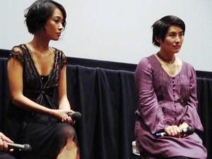 左:猪俣ユキ 右: 宮本麻里枝監督