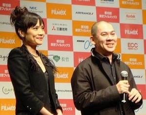 左:チェン・シャンチー 右:ツァイ・ミンリャン監督