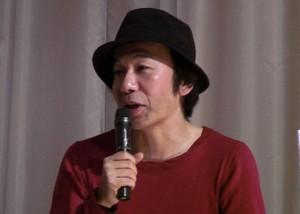 塚本晋也監督テアトル新宿特別先行上映会舞台挨拶1