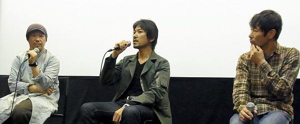 『ぼっちゃん』トークイベント/ゲスト:大西信満×水澤紳吾×大森立嗣監督