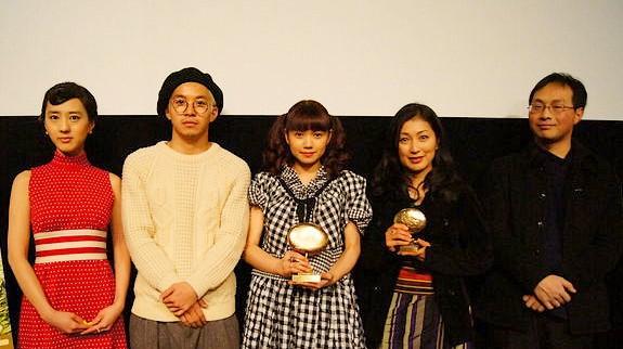 『ほとりの朔子』初日舞台挨拶レポート