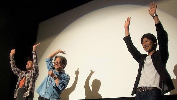 『華魂 幻影』大西信満さん×川瀬陽太さん×佐藤寿保監督 トークイベント3