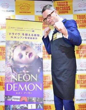 ニコラス・ウィンディング・レフン監督『ネオン・デーモン』/映画「ネオン・デーモン」渋谷タワレコイベント2