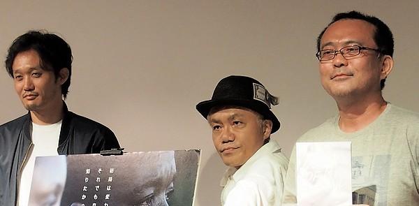 『リベリアの白い血』水道橋博士(お笑いタレント)×松崎まこと(映画活動家)×福永壮志監督9.4トークイベントレポート