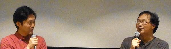 『リベリアの白い血』深田晃司(映画監督)×福永壮志監督9.25トークイベントレポート