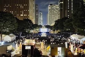 新宿中央公園上映会場