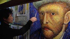 『世界で一番ゴッホ を描いた男』画像